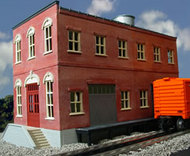 O GAUGE RAILROADING  O Ameri-Towne: Homestead Furniture Co. 2-Story Building Kit OGR443