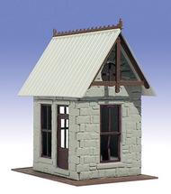 O GAUGE RAILROADING  O Ameri-Towne: Flag Stop Station 1-Story Building Kit OGR501