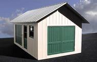 O GAUGE RAILROADING  O Ameri-Towne: Trackside Shed 1-Story Building Kit OGR503