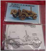 Ordnance Models  1/35 Deep Water Fording kit for M38A1 U.S. Marine (unfortunately Ordnance Models do not say which kit this goes with so probably fits them all) . NOW BEING CLEARED!! SAVE 1/3RD!!! A-039
