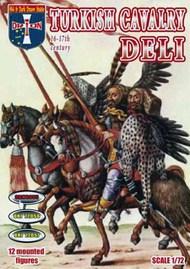 Turkish Deli Cavalry XVI-XVII Century (12 Mtd) #ORF72055