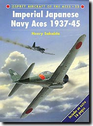 Osprey Publications   N/A Aircraft of the Aces: Imperial Japanese Navy Fighter Aces OSPACE22