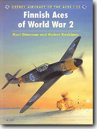 Osprey Publications   N/A Aircraft of the Aces: Finnish Aces OSPACE23