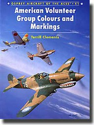 Osprey Publications   N/A Collection - Aircraft of the Aces: American Volunteers' Group Colours and Markings OSPACE41