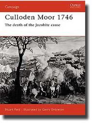Osprey Publications   N/A Culloden 1746 - Highlander Clans Last Charge OSPCAM12