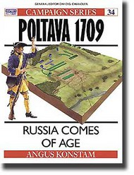 Osprey Publications   N/A Poltava 1709 - Russia Comes of Age OSPCAM34
