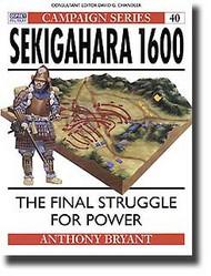 Osprey Publications   N/A Sekigahara 1600 - Tokugawa Shogun, Master of Japan OSPCAM40