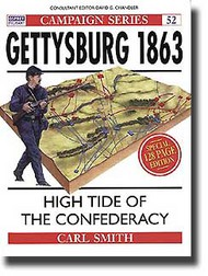 Osprey Publications   N/A Gettysburg 1863: High Tide for the Confederacy OSPCAM52