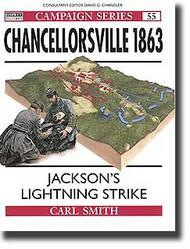 Osprey Publications   N/A Chancellorsville 1863: Jackson's Lightning Strike OSPCAM55