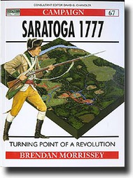 Osprey Publications   N/A Saratoga 1777, Turning Point of a Revolution OSPCAM67