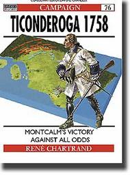 Osprey Publications   N/A Ticonderoga 1758 OSPCAM76