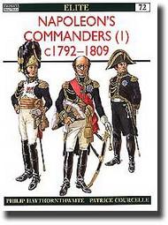 Osprey Publications   N/A Napoleon's Commanders Pt.1 OSPELI72