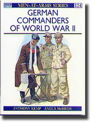 Osprey Publications   N/A Collection - German Commanders of WWII OSPMAA124