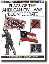 Osprey Publications   N/A Flags of the American Civil War (1): Confederate OSPMAA252