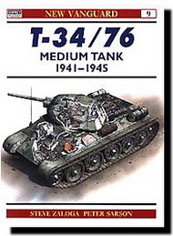 Osprey Publications   N/A Collection - T-34/76 Medium Tank 1941-45 OSPNVG09