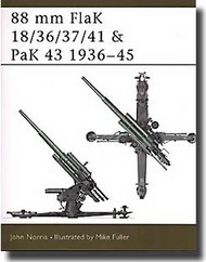 Osprey Publications   N/A 88mm Flak 18/36/37/41 & Pak 43 OSPNVG46