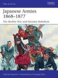 Men at Arms: Japanese Armies 1868-1878 #OSPMAA530
