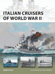 Osprey Publications   N/A Vanguard: Italian Cruisers of World War II OSPV258