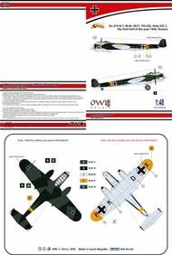 Dornier D-215B Part VI. Do.215B-1 (PK+DX) #OWLDS4898