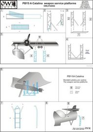 Owl Decals  1/144 Consolidated Catalina weapons service platforms OWLP44002