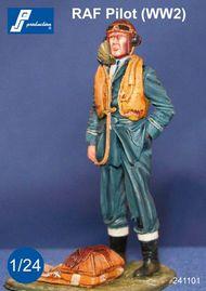 PJ Productions  1/24 RAF Pilot WWII standing PJ241101
