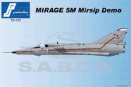 Dassault Mirage 5M Mirsip Demo (BA60 decals) - Injected #PJ721033