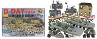 Playsets  54mm D-Day Invasion of Normandy Diorama Playset (114pcs) (Boxed) (BMC Toys) PYS40009