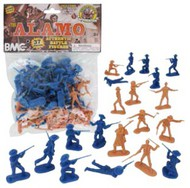 Playsets  54mm Alamo Figure Playset (37pcs) (Bagged) (BMC Toys) PYS40022