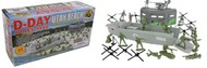 Playsets  54mm D-Day Utah Beach Diorama Playset (40pcs) (Boxed) (BMC Toys) PYS40027