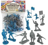 Playsets  54mm Civil War Battle of Appomattox Figure Playset (26pcs) (Bagged) (BMC Toys) PYS40028