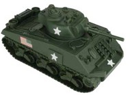 54mm Sherman Tank (Olive Green) (BMC Toys) #PYS49990