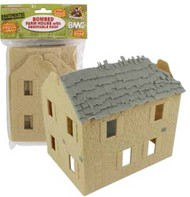 Playsets  54mm 54mm Bombed Farm House (BMC Toys) (Re-Issue) PYS49996