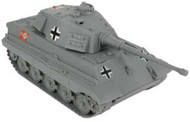 Playsets  54mm 54mm Tiger Tank (Grey) (BMC Toys) PYS49999