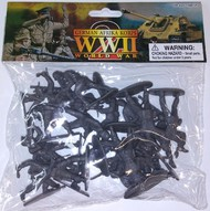 Playsets  1/32 WWII German Afrika Corps Figures (20 Grey) (Bagged) PYS50
