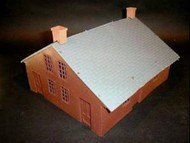 Playsets  54mm 54mm American Civil War House (Brown) (Bagged) (Americana) PYS98537