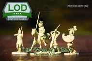 Playsets  1/32 The War At Troy The Amazons Playset (12) (Bagged) (LOD Enterprises) PYSL15