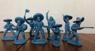 Mexican Bandits Figure Playset (16) (Bagged) (LOD Enterprises) #PYSL20