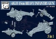 Panda Models  1/16 sIG33 15cm Heavy Infantry Gun (3 in 1) PDA16002