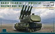 9A317 Telar SPM Transporter w/ SAM17 9K37M2 Buk-M2 Surface-to-Air System (New Tool)(MAR) #PDA35034