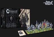 Para Bellum Wargames  38mm 38mm Conquest Hundred Kingdoms: Steel Legion Plastic Figure Kit (12 w/stands) PBW2221