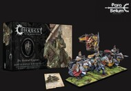 Para Bellum Wargames  38mm 38mm Conquest Hundred Kingdoms: Household Knights Plastic Figure Kit (3 Mtd w/stands) PBW2224