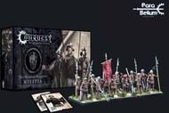 Para Bellum Wargames  38mm 38mm Conquest Hundred Kingdoms: Militia Plastic Figure Kit (12 w/stands) PBW2225