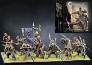 Para Bellum Wargames  38mm 38mm Conquest Hundred Kingdoms: Longbowmen Plastic Figure Kit (12 w/stands) PBW2229