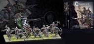 Para Bellum Wargames  38mm 38mm Conquest Hundred Kingdoms: Hunter Cadre Plastic Figure Kit (12 w/stands) PBW2230