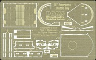 Paragrafix Modeling Systems  1/650 Star Trek: USS Enterprise Shuttlecraft Hanger Photo-Etch Set for AMT (D)<!-- _Disc_ --> PGX108