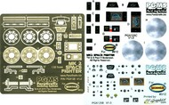 Paragrafix Modeling Systems  1/32 Battlestar Galactica: Viper Mk II Photo-Etch & Decal Set for MOE PGX125