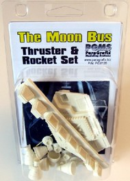 Paragrafix Modeling Systems  1/50 Space Odyssey: Moon Bus Thruster & Rocket Resin Set for MOE PGX128