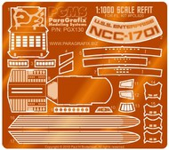 Paragrafix Modeling Systems  1/1000  Star Trek: USS Enterprise Refit Photo-Etch Set for PLL PGX130