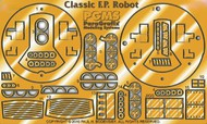 Paragrafix Modeling Systems  1/12  Forbidden Planet: Robby the Robot Photo-Etch Set for PLL PGX135