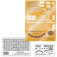 Paragrafix Modeling Systems  1/350 Star Trek The Original Series: USS Enterprise Supplemental Photo-Etch & Decal Set for PLL PGX165